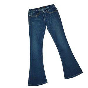 "Seven ""Tulip"" Double-stitch Flare Jeans in Sz6"